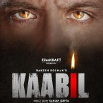 First Look teaser poster of KAABIL