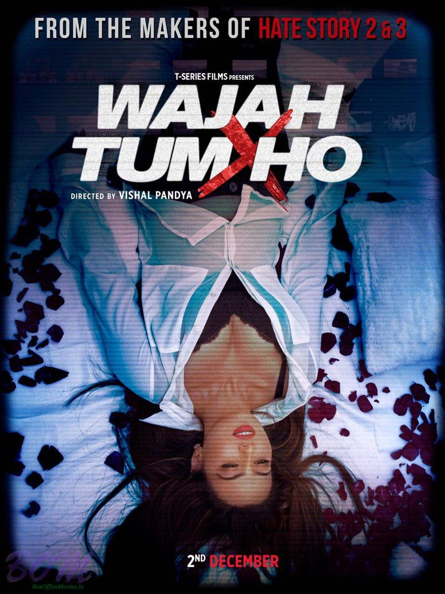 first poster of wajah tum ho movie pics bollywood actor movie. Black Bedroom Furniture Sets. Home Design Ideas