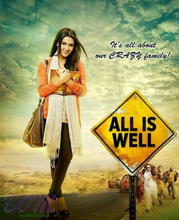 First look of Asin from All Is Well