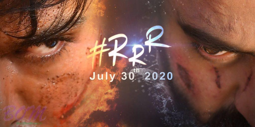 RRR film release date 30th July 2020