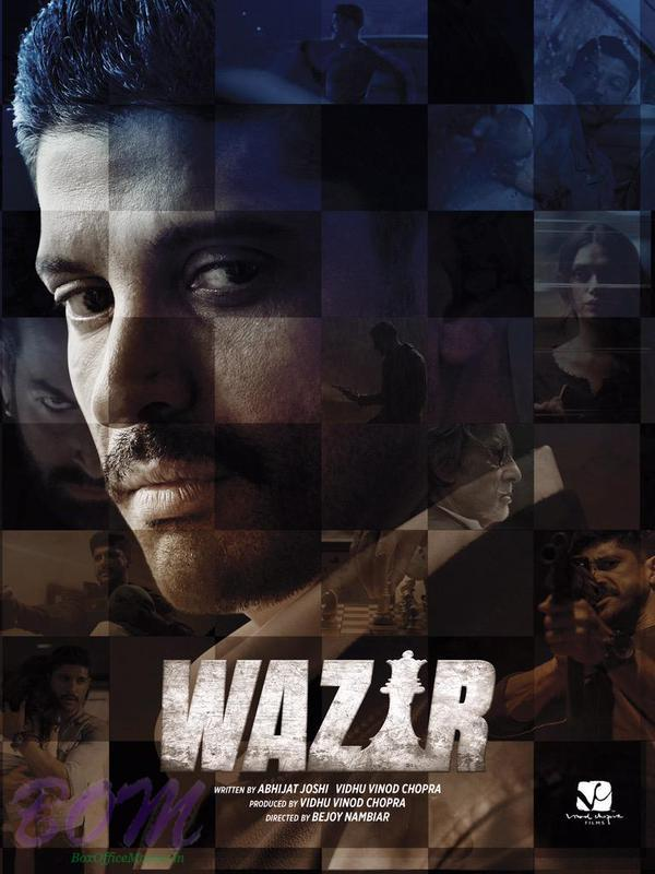 First look picture of Farhan Akhtar in upcoming movie Wazir with Amitabh Bachchan