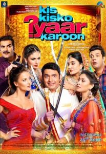 First look poster of Kis KisKo Pyar Karoon movie