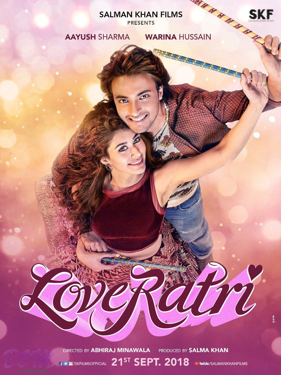 First look poster of LOVERATRI