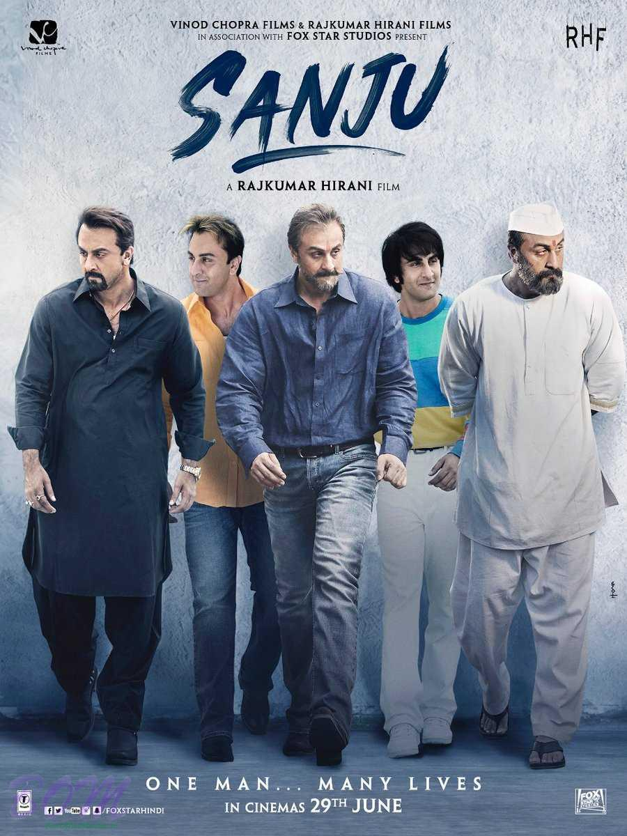First look poster of Rajkumar Hirani most awaited movie SANJU