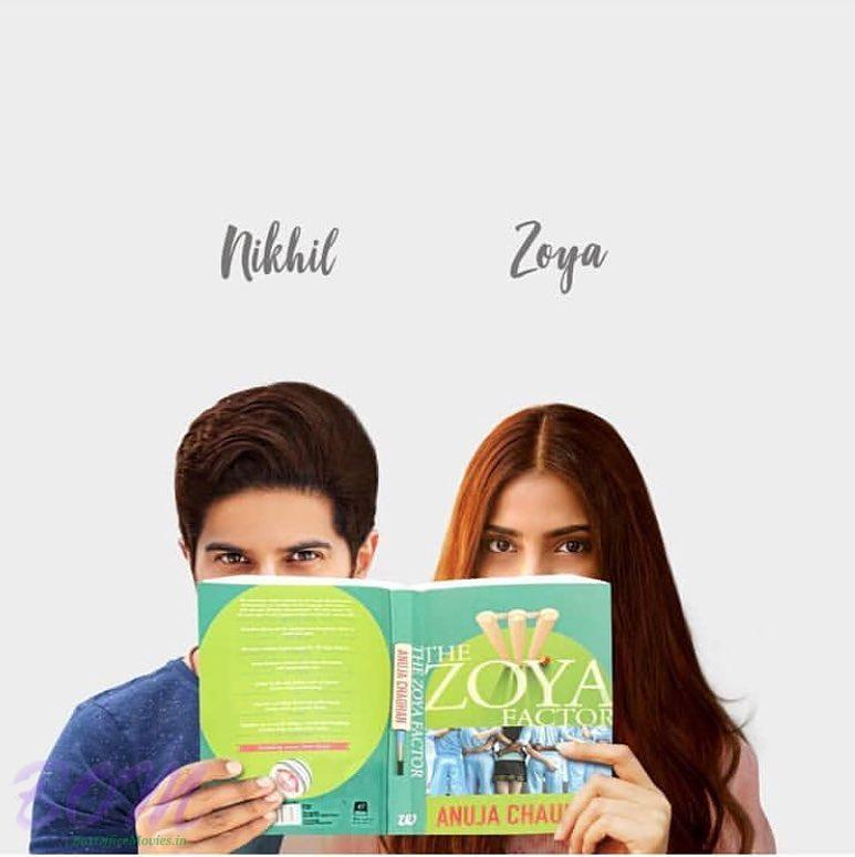 First look poster of Sonam Kapoor and Dulquer Salmaan starrer Zoya Factor movie