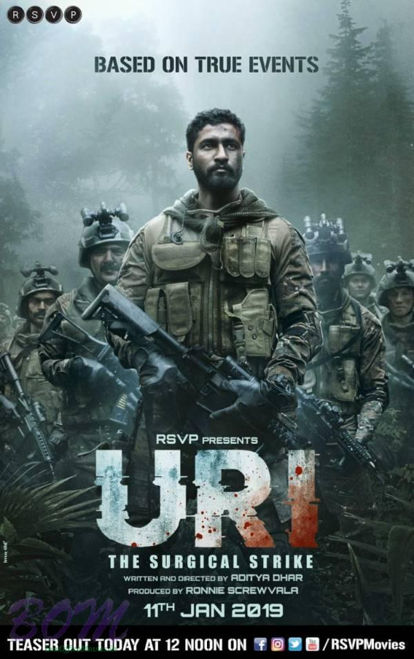 First look poster of Vicky Kaushal starrer Uri movie