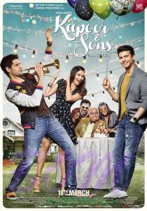 First poster of Siddharth-Alia-Fawad starrer Kapoor And Sons on 3Feb2016