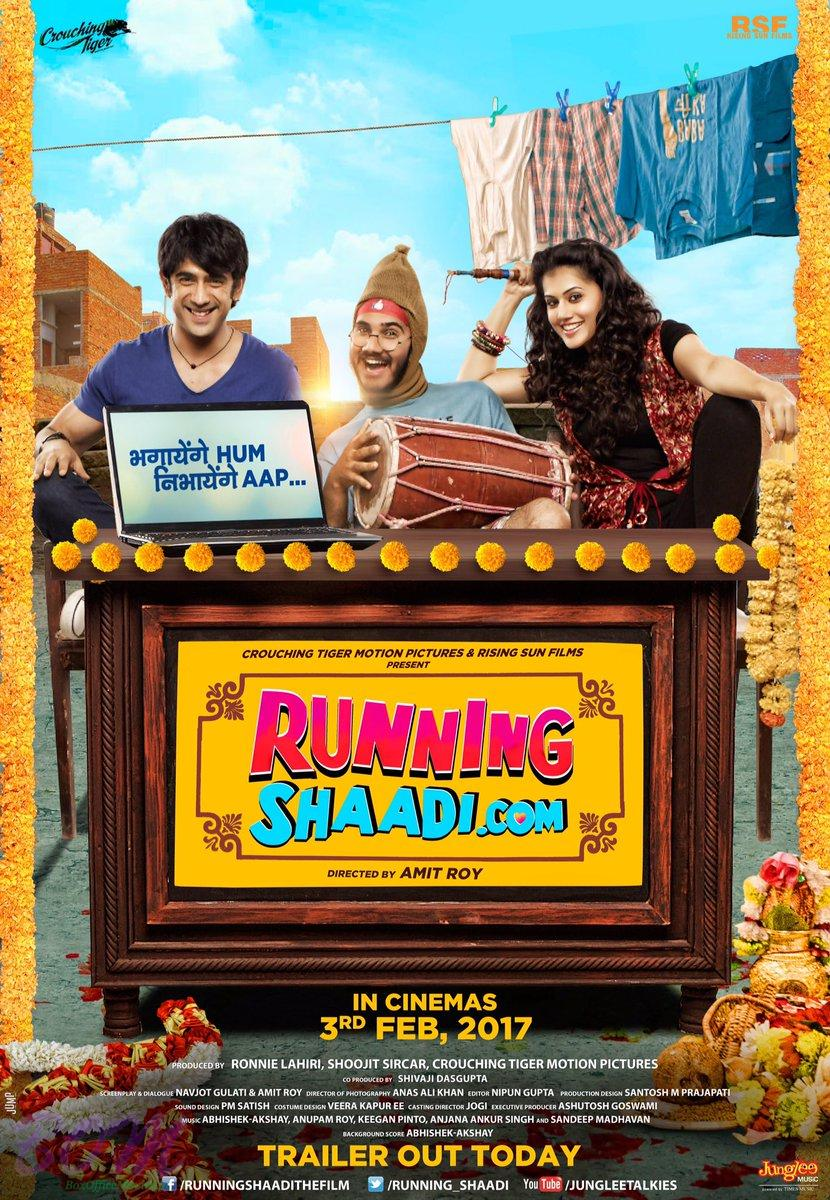 First poster of movie RunningShaadi.com movie