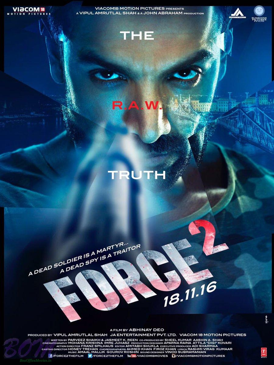 Force 2 Movie Poster on 27 Sep 2016