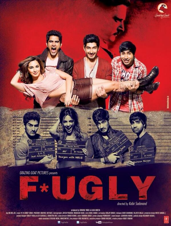 Fugly movie new poster - released on 19 May 2014