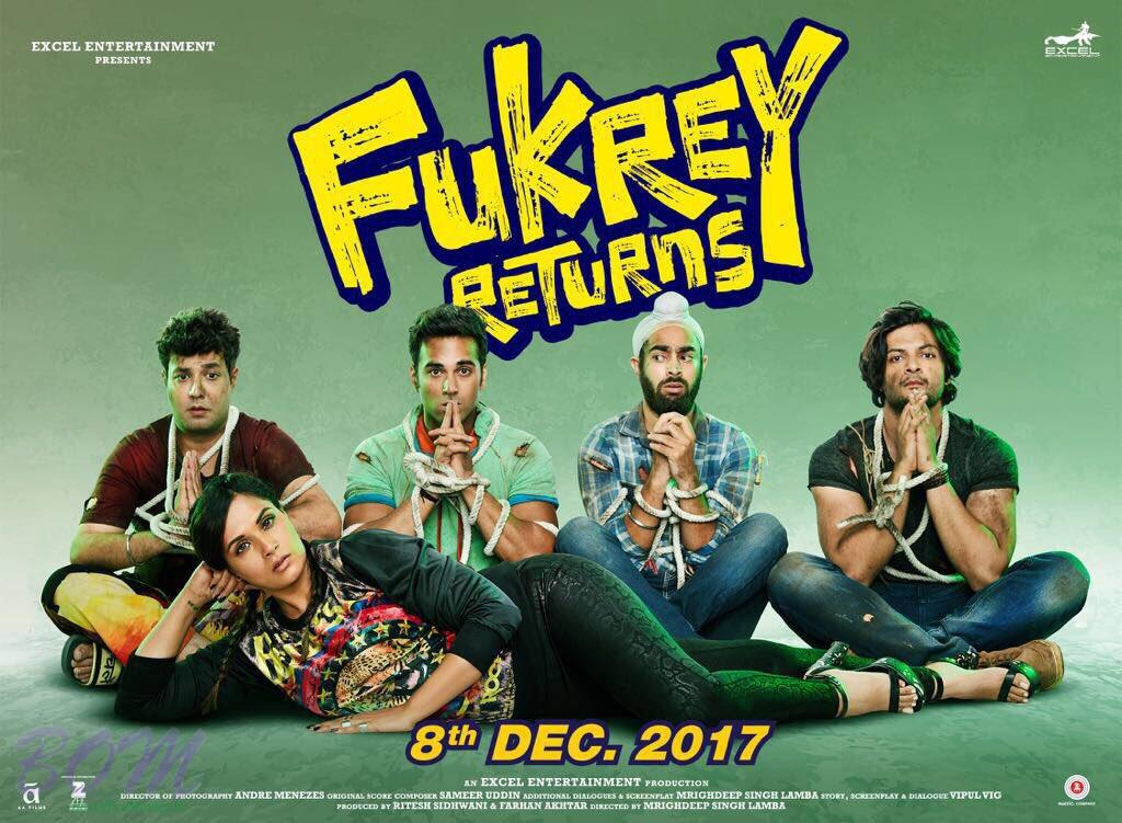 Fukrey Returns movie small poster