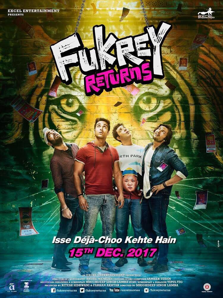 Fukrey Returns new poster with postponed release date
