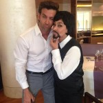 Funny Faces - Hrithik Roshan and Lisa Ray channel their inner comedians.