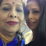 GEETA KAPUR with her Mother