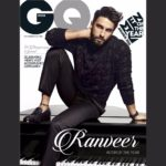GQ India Cover Boy Ranveer Singh Actor of the Year 2016