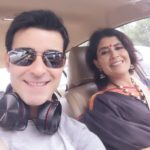 Gautam Rode latest selfie with his sister