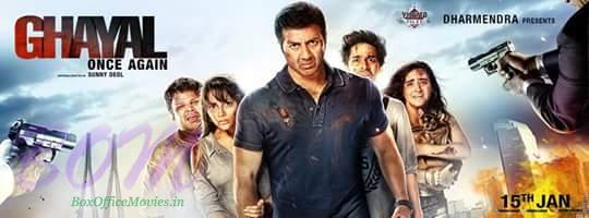Ghayal Once Again first teaser poster