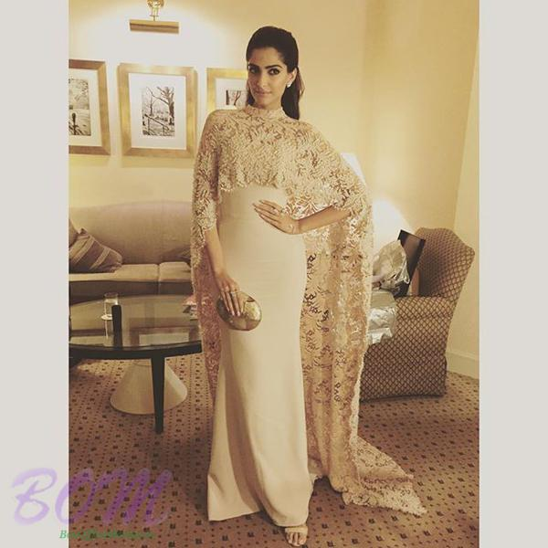 Gorgeous Sonam Kapoor in a beautiful outfit