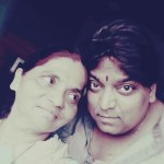 Great choreographer Ganesh Acharya with Mother