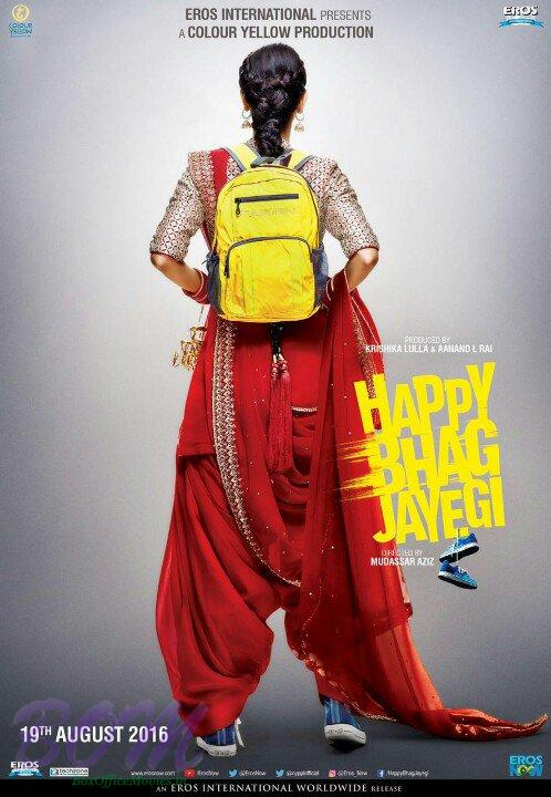 Happy Bhag Jayegi teaser poster released on 7 Jul 2016