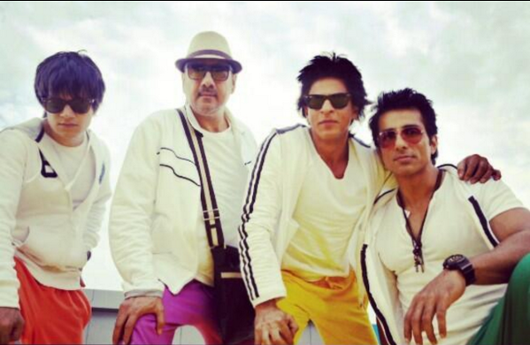 Happy New Year Latest Picture - SRK, Sonu sood, Boman Irani, Vivaan