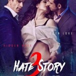 Zareen Khan midst of Karan Singh and Sharman Joshi