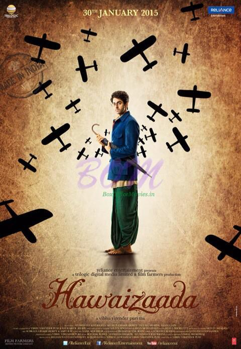 Hawaizaada movie latest poster released on 23 Jan 2015