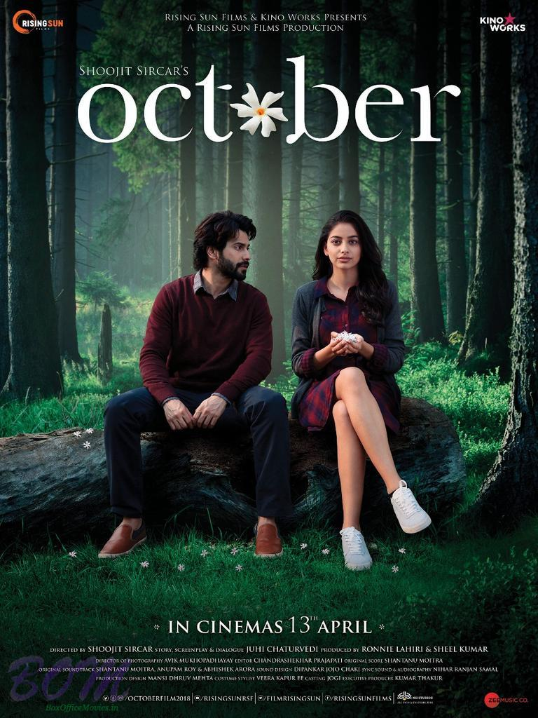 Varun Dhawan desperately wants Banita Sandu in this new poster of October movie