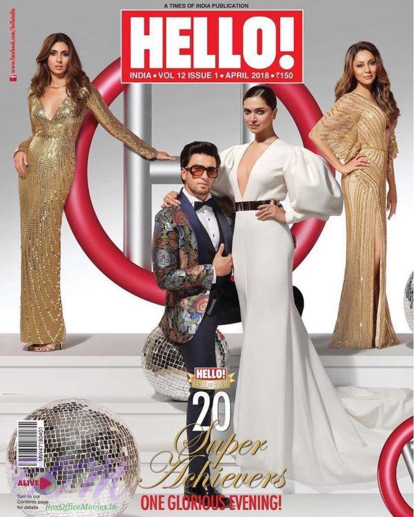 Hello Magazine cover page for April 2018 issue