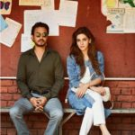Hindi Medium movie star Irrfan Khan with Saba Qamar
