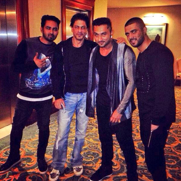 Honey singh feels refulled after meeting with SRK again