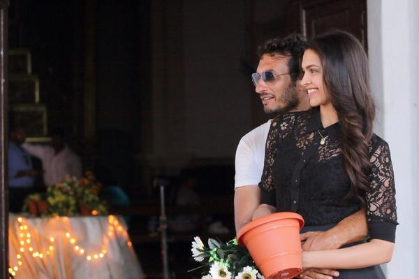 Homi Adajania dashing picture with Deepika Padukone