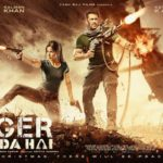 Salman Khan and Katrina Kaif starrer Horizontal poster of Tiger Zinda Hai.