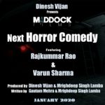 Horror Comedy announced featuring Rajkummar Rao and Varun Sharma in leading roles