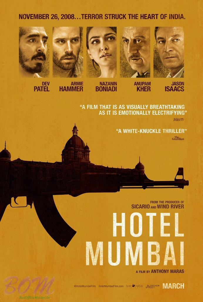 Hotel Mumbai to release on 29 March 2019