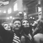 Housefull 2 star Riteish Deshmukh selfie with beauties Nargis Fakhri, Jacqueline Fakhri, and Lisa Haydon