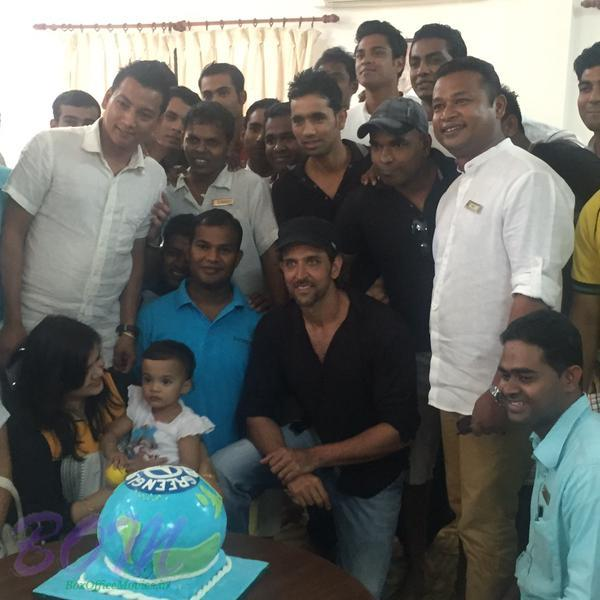 Hrithik Roshan celebrating green-globe certification