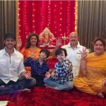 Hrithik Roshan family picture on Ganesh Chaturthi 2015