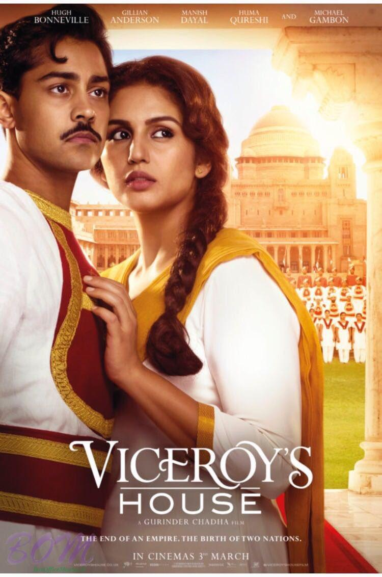 Huma Qureshi starrer Viceroy's House Movie Poster