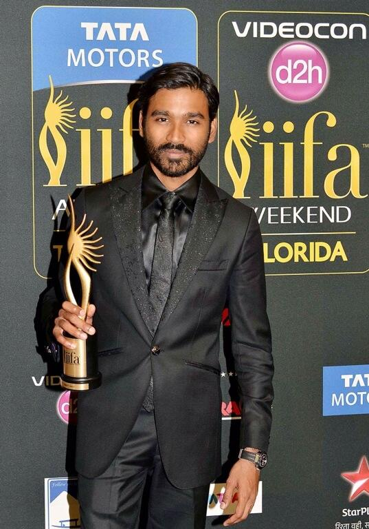 IIFA 2014 Awards - Dhanush