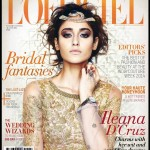 Ileana D'Cruz ‏This month's cover for LOfficie lindia made up by the fabulous Daniel c bauer