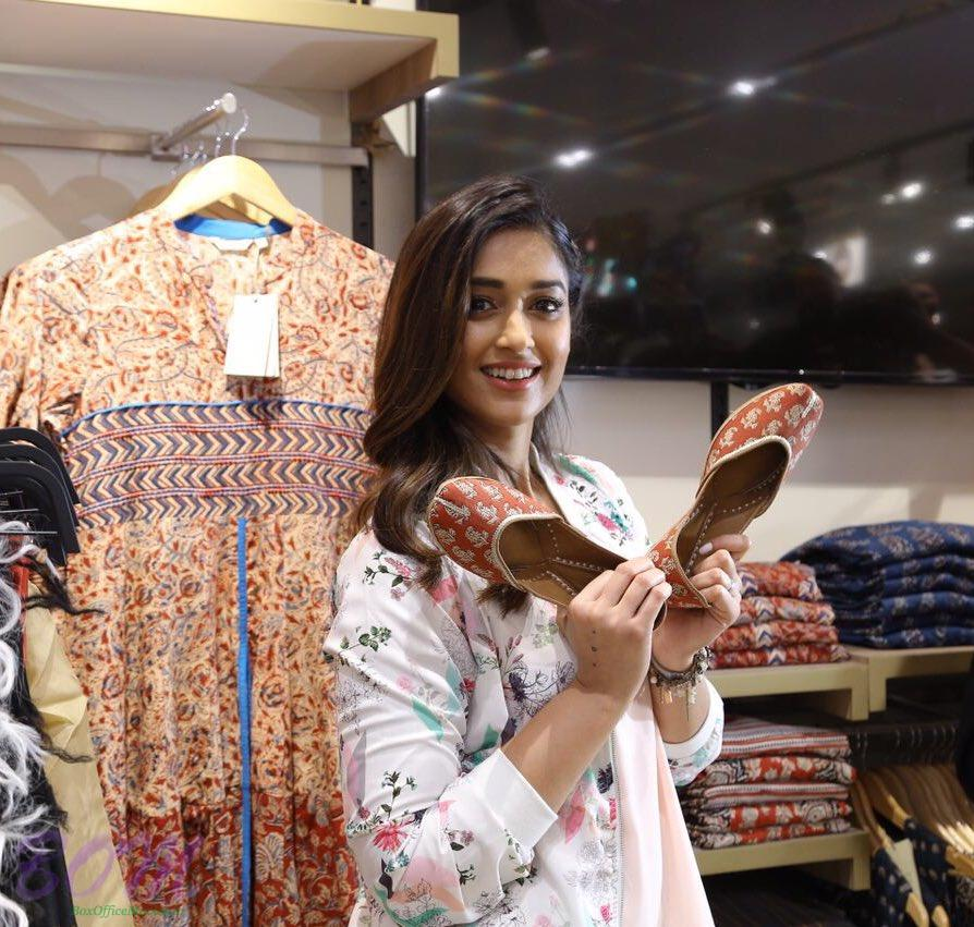 Ileana D'Cruz quirky style in a fashion store