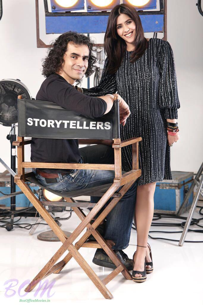 Imtiaz Ali with Ekta Kapoor
