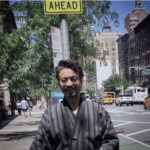 Irrfan Khan Kimono walk in Newyork street when shooting for Puzzle