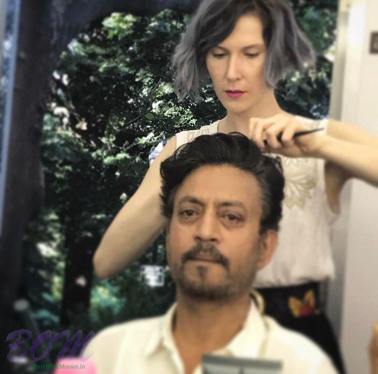 Irrfan Khan hair style for The Puzzle movie