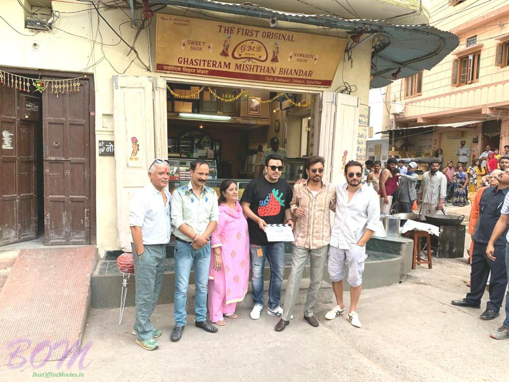 Irrfan Khan resumes work for Angrezi Medium in Udaipur after fighting with deadly disease