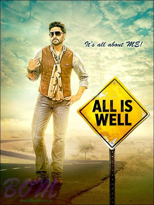 It's all about my problems poster of All is Well with Abhishek Bachchan