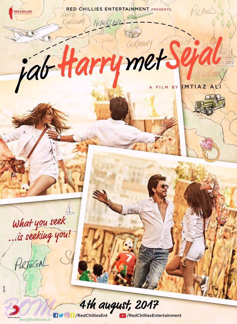 Jab Harry Met Sejal poster with release date