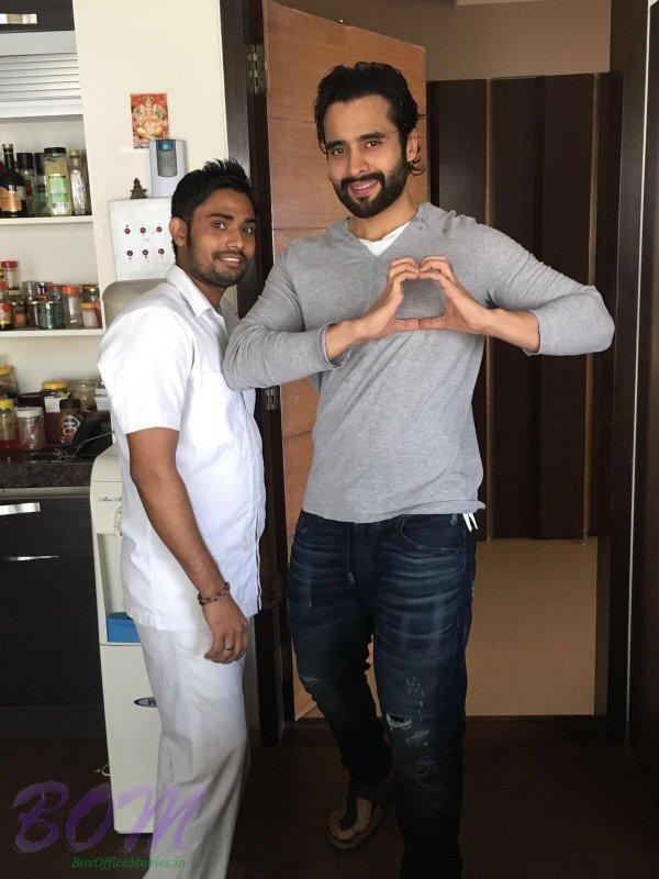 Jackky Bhagnani pic with his special chef
