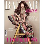 Jacqueline Fernandez cover page girl of Bazaar Bride - Issue July August 2014